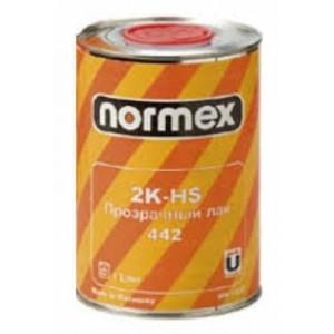 Normex Лак 2К-MS прозрачный 1 л. + 0,5 л. Комплект