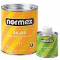 Normex Порозаполнитель 2К-HS 4:1 (серый) 1 л. + 0,25 л. Комплект