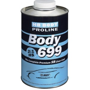 HB Body - Лак PROLINE 699 2:1 SR + Отвердитель PROLINE 620, 720 NORMAL, 722 FAST бесцветный комплект