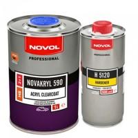 Лак NOVAKRYL 590 HS 2+1 NOVOL, уп. 1+0,5 л