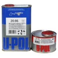 U-POL - Лак быстрый Super Fast 3:1 S2086 HS (+ отвердитель), комплект
