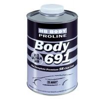 HB Body - Лак PROLINE 691 2:1 ULTRA HS SR + Отвердитель 723 HS, 724 HS бесцветный комплект