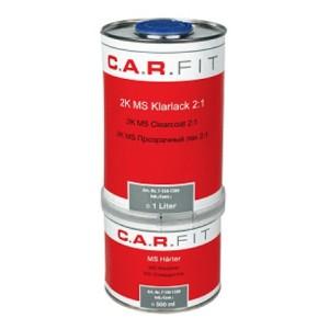 CARFIT- 2К HS 2:1 Прозрачный лак + отвердитель, Комплект