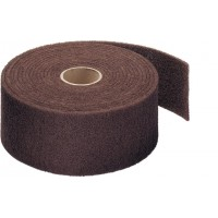 ROXELPRO - Нетканый абразивный материал 115мм х10м very fine, красный