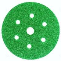 3M - 245 Абразивный круг на липучке зеленый, 7 отв. ф-150мм., 1 уп.
