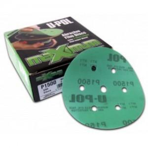ABD7/VP2000  Абразивный круг D150 мм на пластиковой основе 6+1 отверстий  Р2000