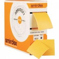 P1000 Абразивная бумага на поролоновой основе в рулоне с перф. SMIRDEX 135 Abrasoft, 115*125мм*25м (шт.)