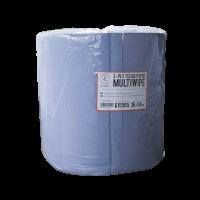 ROXELPRO - Бумажная салфетка mul tiwipe, 3-слойная, рул. 1000 шт., 36х38 см, синяя