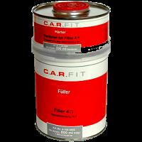 CarFit (4-100-0800) 2К Акриловый грунт-наполнитель 4:1 cерый (0,8+0,2 л)