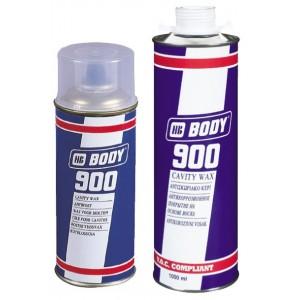 HB Body - Антикоррозийный состав 900 евробаллон для краскопульта прозрачный