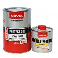 NOVOL PROTECT300 Грунт 4+1 MS белый 1 л + отв.