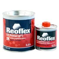 REOFLEX Грунт 2К Эпоксидный серый 0,8 л + 0,2 л
