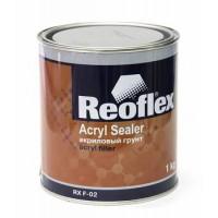 REOFLEX Грунт 1К Акриловый серый 1 кг