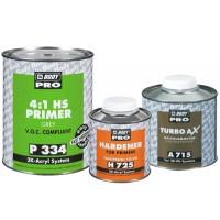 HB Body - Грунт-наполнитель PRO 334 HS 4+1 2К + Отвердитель H725 серый комплект