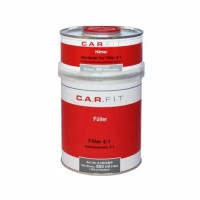 CarFit (4-101-0800) 2К Акриловый грунт-наполнитель 4:1 чёрный (0,8+0,2 л)