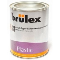 BRULEX - 2К грунт-наполнитель для пластика 1 л комплект