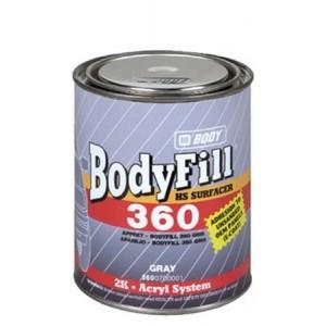 HB Body - Грунт-наполнитель 360 HS 2К + Отвердитель 720 серый комплект