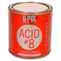 U -POL - ACID #8™: Грунт протравливающий серый 1 л