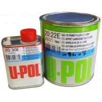 U-POL - S2023R HS Мультифункциональный грунт 5:1 Серый (+отвердитель), комплект