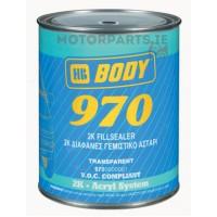 HB Body - Грунт-наполнитель 970 2:1 2К + Отвердитель 720 бесцветный комплект