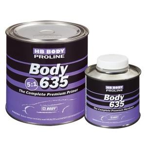 HB Body - 635 Грунт Proline 5:1 комплект Чёрный