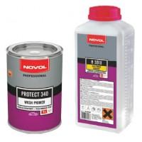 NOVOL PR340 Wash Primer Грунт реактивный (0.2 л + 0.2 отв.)