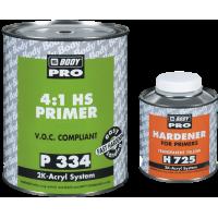 Body 334 PRO Грунт 4+1 серый с отверд. 725 1,25 л