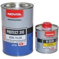 NOVOL- Protect 310 HS 4+1 - акриловый грунт серый комплект 1л+0,25л