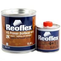 REOFLEX Грунт Акриловый 2K 4+1 прямо на металл белый 0,8 л + 0,2 л