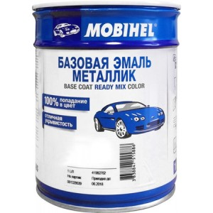 MOBIHEL - 600 черная базовая эмаль металлик