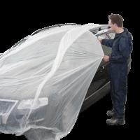 ROXELPRO - Прозрачная маскирующая плёнка roxone со стат. эффектом, 4 м х 200 м
