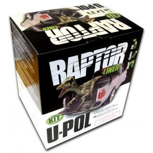 U-POL - RLT/S4 Raptor 2k 3:1 защитное покрытие повышенной прочности - колеруемый 4+1