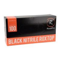 ROXELPRO - Нитриловые перчатки roxtop, чёрные,упаковка 100 шт.