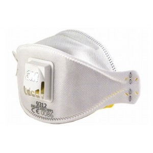 3М - aura 9312 противоаэрозольный респиратор с дыхательным клапаном (FFP1)