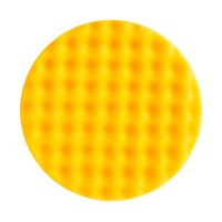 MIRKA - Рельефный поролоновый полировальный диск 150 мм, оранжевый , упаковка 2 шт