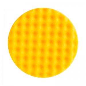MIRKA - Рельефный поролоновый полировальный диск 150мм, жёлтый - 7993415021, упаковка 2 шт