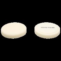 Полировальный круг из поролонa D150 mm T25 mm экстра-жесткий белый Norma 25 white ISISTEM