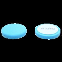 Полировальный круг из поролонa D150 mm T25 mm среднежесткий синий Norma 25 blue ISISTEM