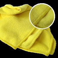 ROXELPRO - Многоразовая полировальная салфетка micro shine из микрофибры, 40х40 см., жёлтая