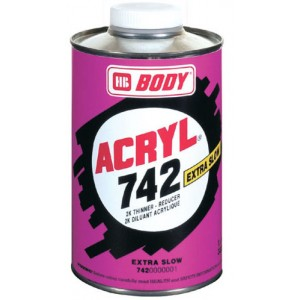 HB Body - Разбавитель 742 ACRYL EXTRA SLOW