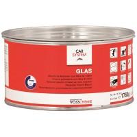 """2К Полиэфирная стекловолокнистая шпатлевка """"Glas"""" зелен."""