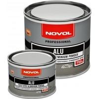 Шпатлевка NOVOL - Alu, алюминиевая