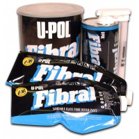 U-POL - Fibral, Стекловолоконная шпатлевка