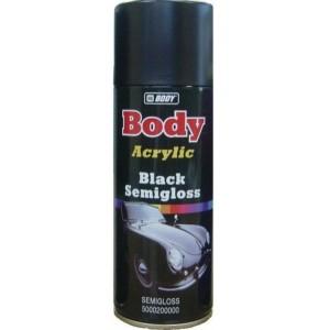 Краска BODY universal spray Черная глянцевая