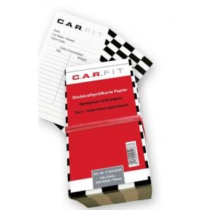 7-750-0250 CF Картонные тест-карты для выкрасов (250 шт)